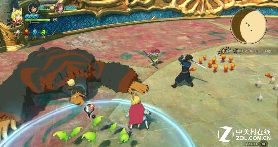 《二之国2:亡灵之国》试玩 组队打怪物