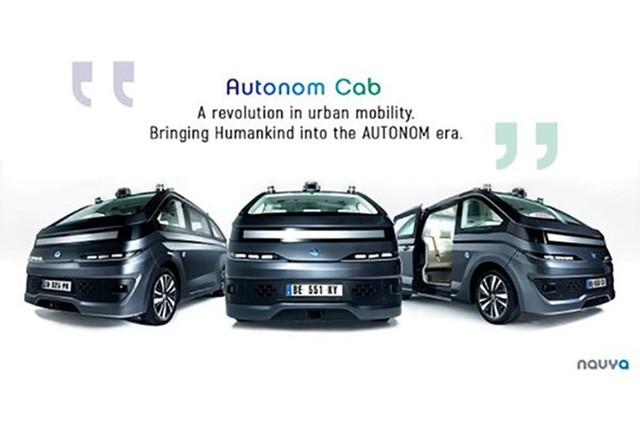 法国公司推出自动驾驶出租 具备L4级别