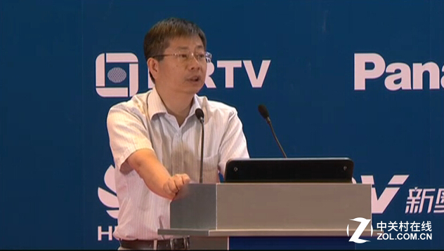 "BIRTV 2015:姜文波""电视媒体的融合"""