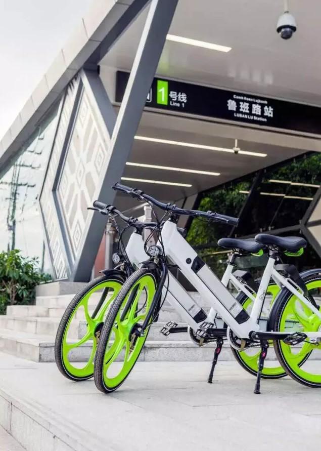 高颜值惊呆:传说别人城市的共享电动车