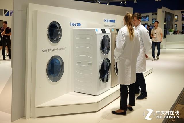 打造智能家电 海尔智能洗衣机亮相IFA