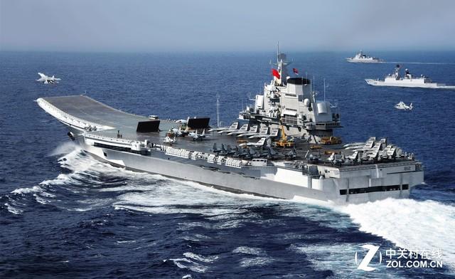 一个月一艘航母 中国面板市场砸出了什么?