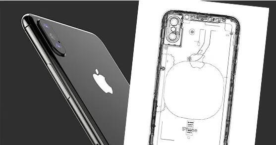 iPhone 8 内部工业绘图 机身结构大公开
