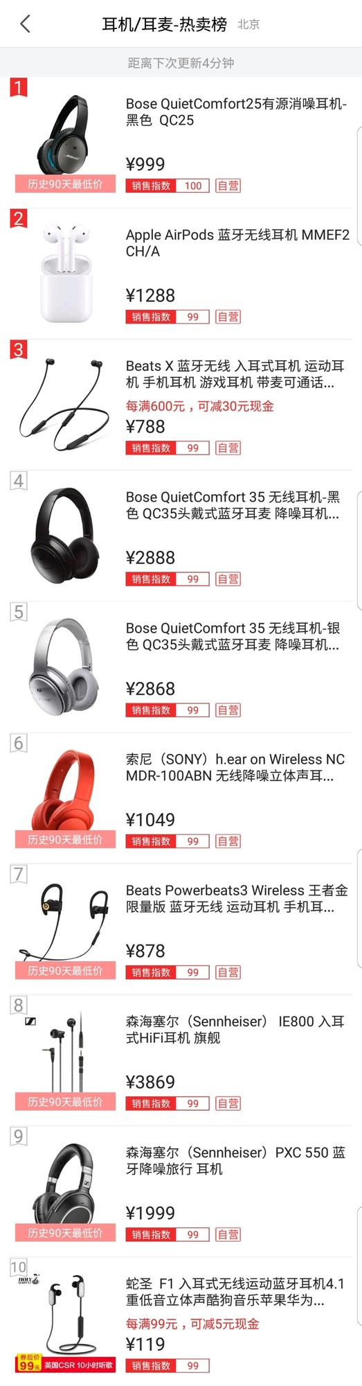 大家怎么剁?京东双.11音频产品销量战报
