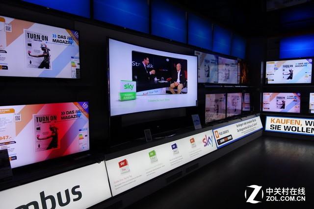 OLED备受追捧!编辑带您逛德国电视市场