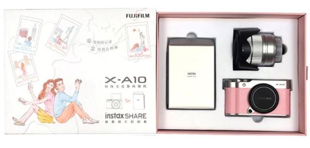 富士推出X-A10+Instax SP-2爱念礼盒