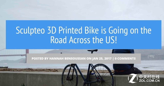 美国1000公里骑行 自行车数字制造之旅