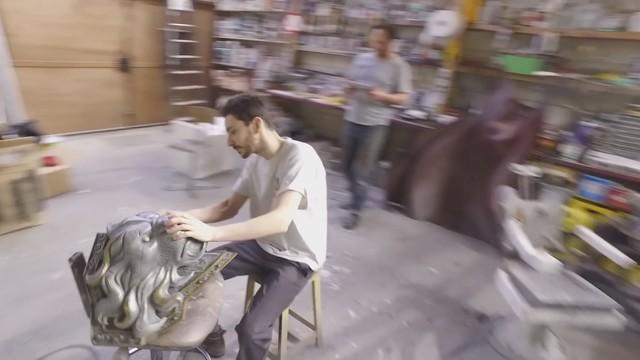 """在《魔兽世界》的最新资料片""""军团再临""""中,瓦里安在破碎群岛壮"""