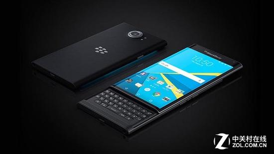 3GB内存+安卓7.0 曝黑莓全键盘新机跑分
