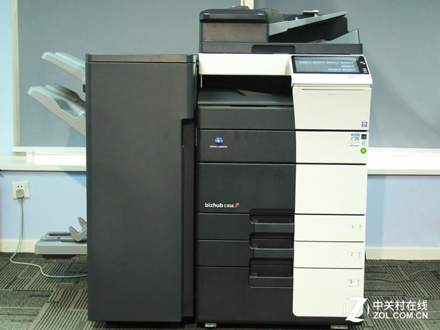 彩印无极限 柯尼卡美能达C658彩机评测