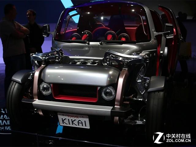 氢燃料无线充电 丰田电动概念车亮相CES
