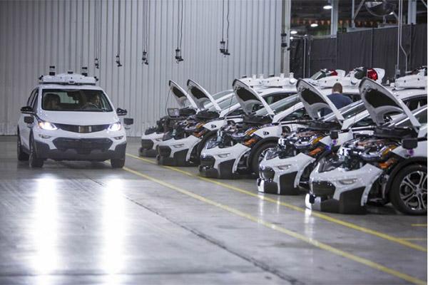 雪佛兰纯电动自动驾驶Bolts开始量产