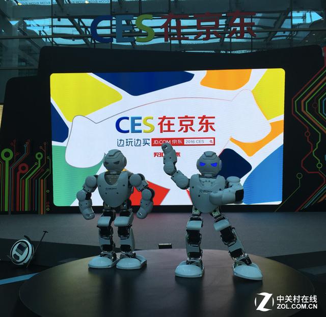京东同步美国CES展 近距离体验科技魅力