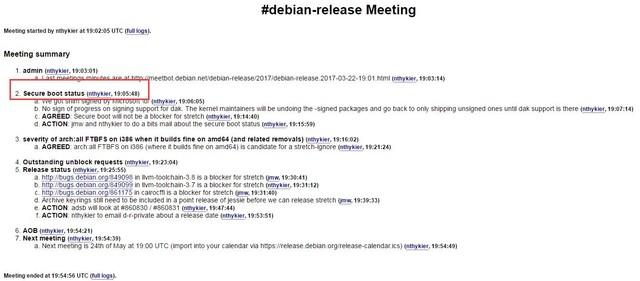 程序员哭了 Debian这个系统不支持安全启动