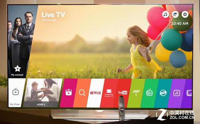 LG智能电视webOS3.0 让电视操作更简单