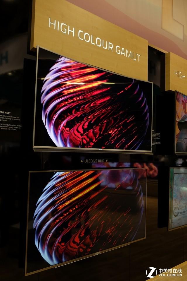 正面叫板OLED!海信ULED超画质TV出战IFA