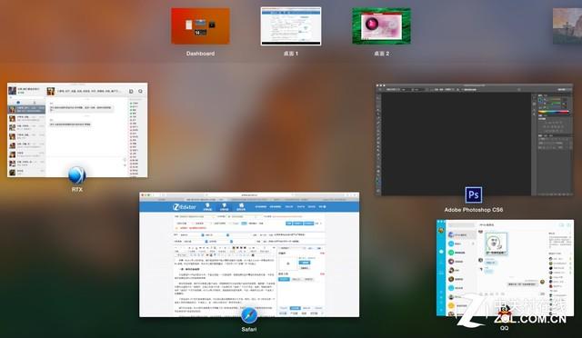 那些和OS X酷似的Win10功能
