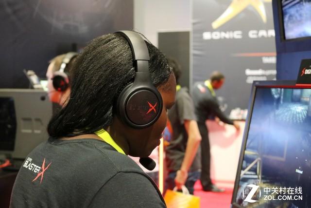 声霸锣2代与最新游戏耳机 创新参展CES
