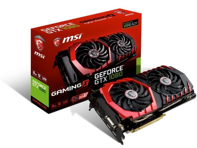 MSI微星正式颁布匹GeForce? GTX 1080系列露卡