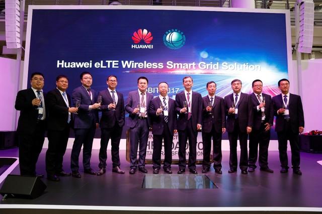 华为在CeBIT 发布基于4.5G无线智能电网解决方案