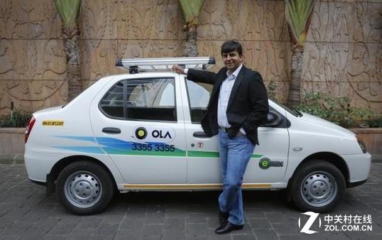 滴滴宣布将投资印度最大打车软件Ola