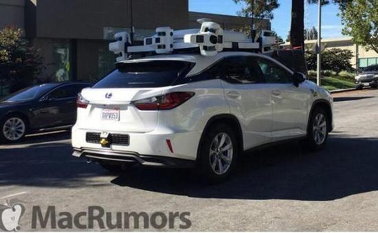 苹果全新自动驾驶测试车 设备配置复杂  -7