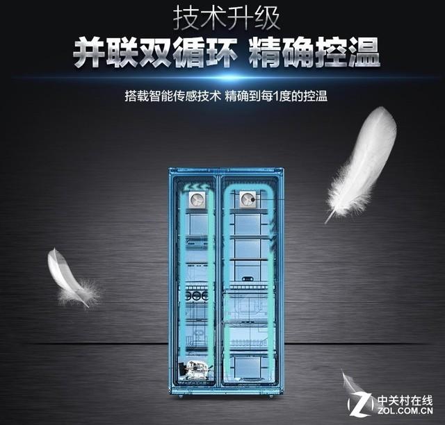 并联双循环控温准 西门子冰箱天猫聚划算