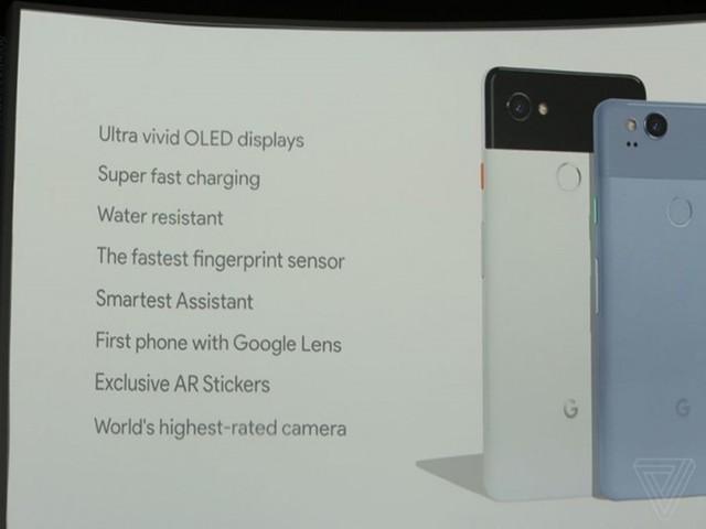 谷歌发布Pixel 2/Pixel 2 XL:售价