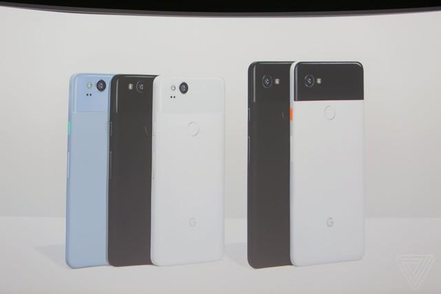 谷歌Pixel 2/XL发布 外观配置不负众望