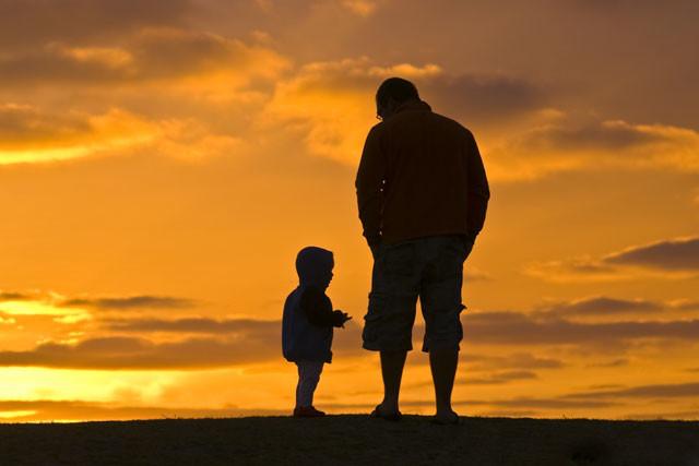 父爱如山 愿安心蓝常伴左右