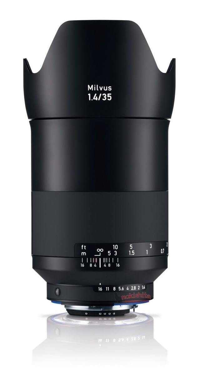 全新设计? 蔡司Milvus 35mm f/1.4曝光