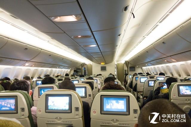 非洲航空公司,大部分都是经济舱