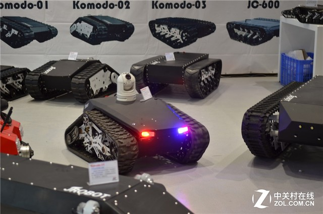 悬空履带绝学?极创科技特种机器人曝光