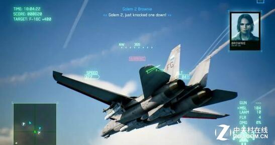 《皇牌空战7:未知空域》10分钟演示