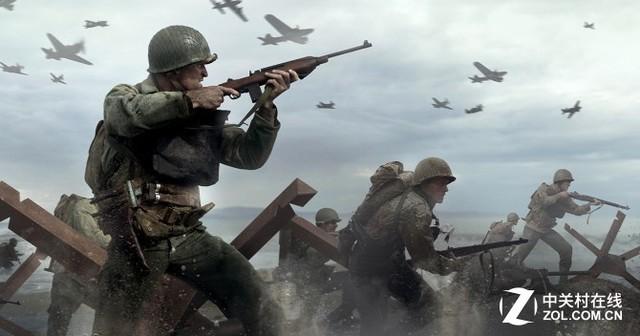 """《COD14:二战》原计划公开 动视本想做""""高级战争2"""""""