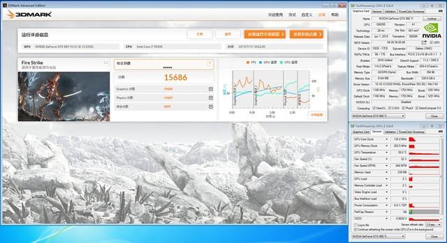 影驰 GTX980 Ti名人堂性能测试