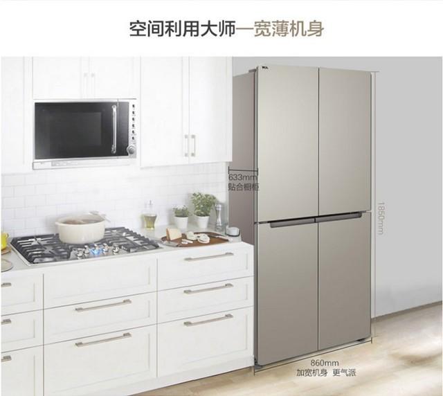 圆角厨房柜效果图