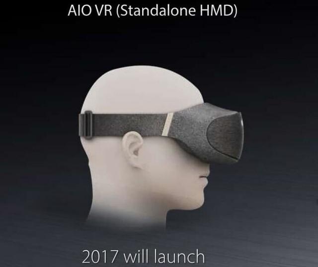 华硕推一体式 AIO VR 装置