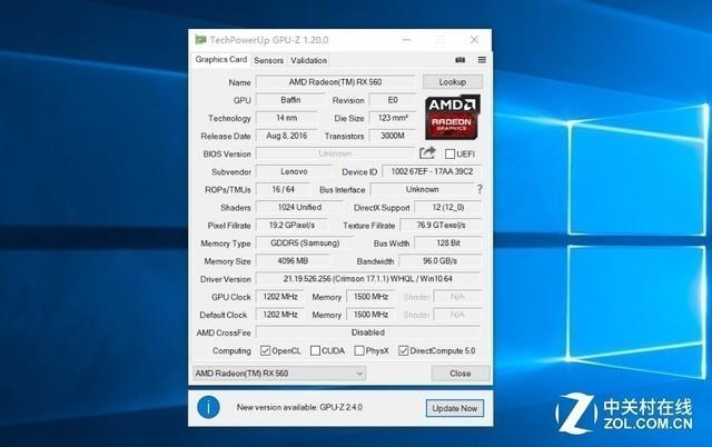科技早报:RX560显卡的ENZ你见过么?