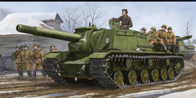 科技史上1月4日SU-152自行火炮问世