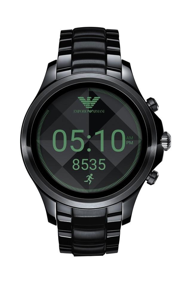 时尚交融科技 阿玛尼推出触控智能腕表