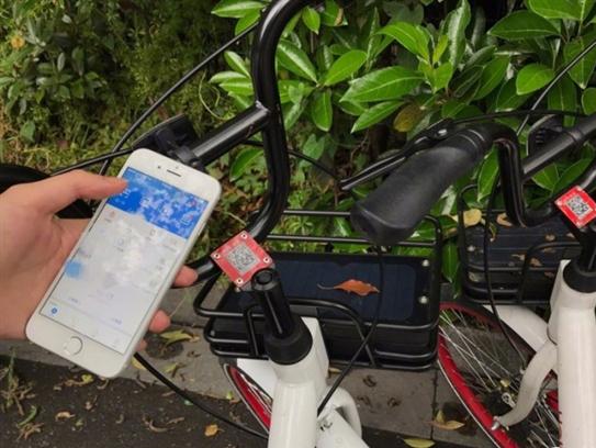 简直太方便 支付宝扫一扫骑共享单车