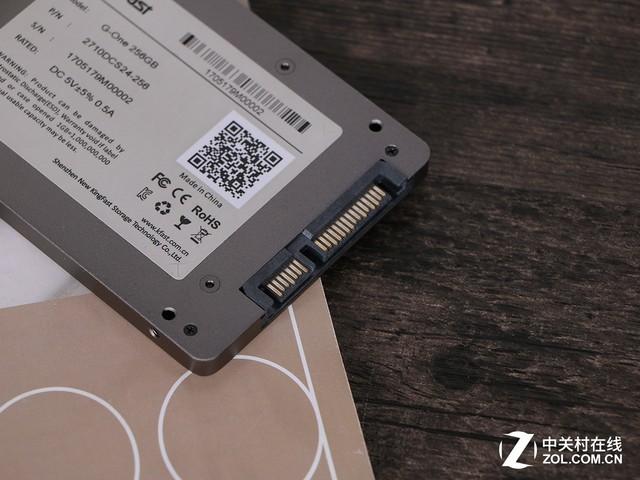 金速G-One 256GB固态硬盘评测