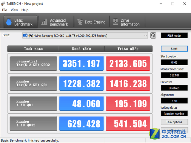 不同驱动下 三星960PRO的性能差异几何?