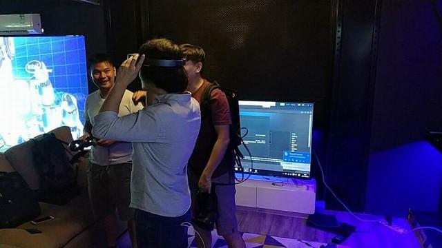 索泰VR GO入驻上海论优设计师装备体验中心