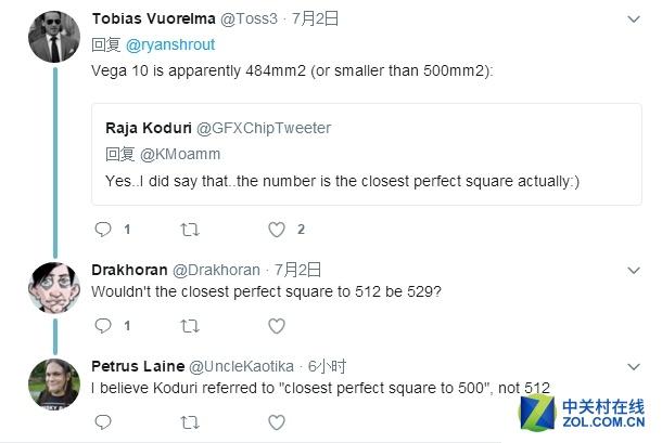 2倍于RX 580 AMD Vega核心面积已被确认