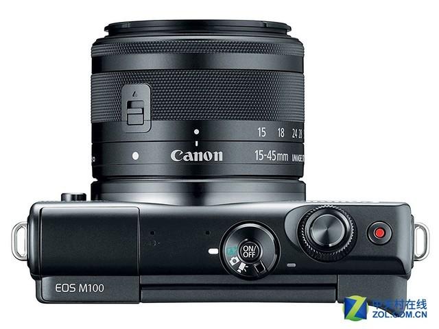 2400万像素加对焦升级 佳能EOS M100发布
