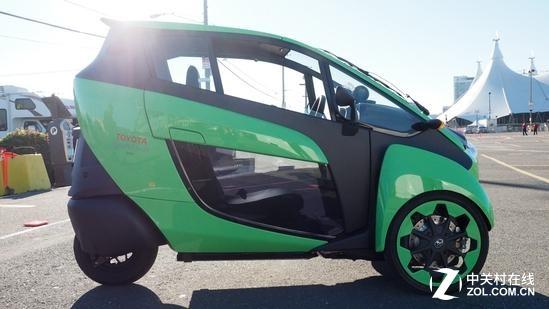 这是汽车还是摩托?丰田推三轮电动车