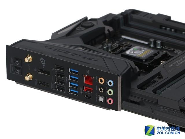 前置USB3.1接口 华硕ROG M9F主板发布