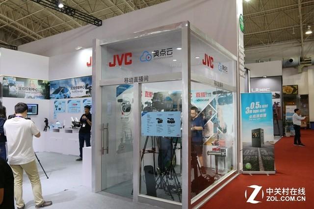 全新感官  JVC携多款产品亮相BIRTV2017